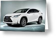 Lexus Nx 300h F Sport 2014 1920x1200 010 Greeting Card
