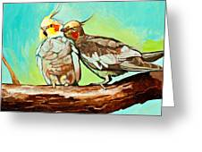 Liefde Greeting Card