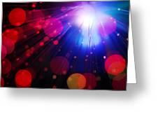 Light Burst-4 Greeting Card