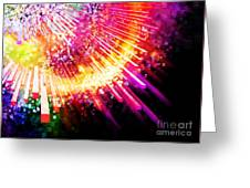 Lighting Explosion Greeting Card