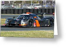 Ligier Js P3 Le Mans Prototype 3 Lmp3 Greeting Card