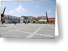 Limassol Marina  Greeting Card