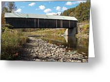 Lincoln Covered Bridge Greeting Card