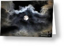 Lisas Wildlife Moons 2 Greeting Card