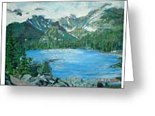 Little Grand Lake Greeting Card