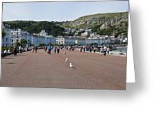 Llandudno Beach Greeting Card