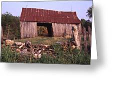 Lloyd Shanks Barn 4 Greeting Card