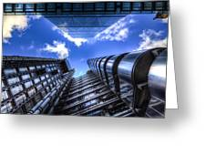 Lloyd's Of London And Cheese Grater Greeting Card