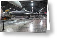 Lockheed, Yf-12a Greeting Card