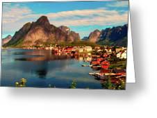 Lofoten, Norway Greeting Card