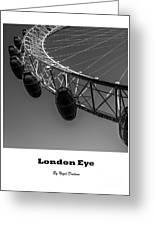 London Eye. Greeting Card