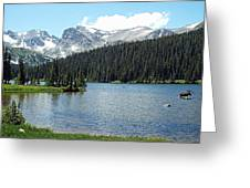 Long Lake Splender  Greeting Card