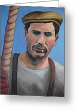 Long Shoreman Greeting Card