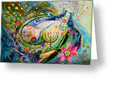 Longing For Chagall Greeting Card
