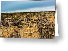 Lookout Studio @ Grand Canyon Greeting Card