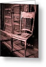 Loomis Ranch Chair Greeting Card