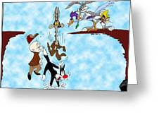 Looney Tunes Greeting Card
