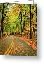 Lost In Pennsylvania - Paint Greeting Card