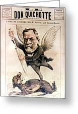 Louis Pasteur (1822-1895) Greeting Card