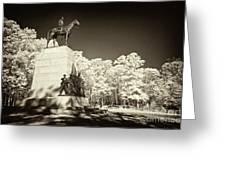 Louisiana Monument At Gettysburg Greeting Card