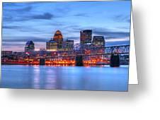Louisville Kentucky Greeting Card