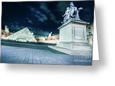 Louvre Museum 6b Art Greeting Card