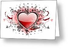 Hearts 8 T-shirt Greeting Card