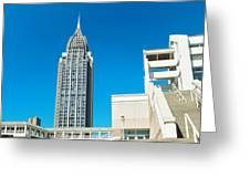 Low Angle View Of Buildings, Mobile Greeting Card