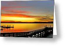 Lowcountry Autumn Greeting Card