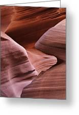 Lower Antelope Canyon 2 7978 Greeting Card