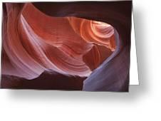 Lower Antelope Canyon 7729 Greeting Card