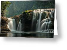 Lower Lewis Falls Greeting Card by Blanca Braun