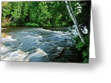 Lower Tahquamenon Falls Greeting Card