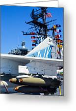 Ltv A-7 Corsair II  Greeting Card