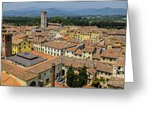 Lucca Italy Greeting Card
