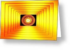 Luminous Energy 7 Greeting Card