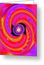 Luminous Energy 8 Greeting Card by Will Borden