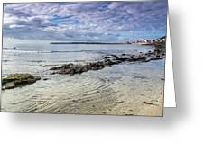 Lyme Regis Seascape - October Greeting Card