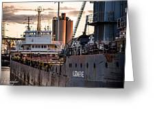 M/v Algomarine Greeting Card