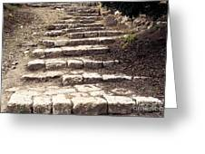 Maccabean Steps St Peter In Gallicantu Greeting Card