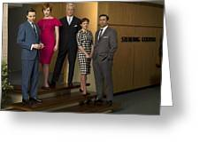Mad Men Greeting Card