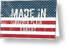 Made In Garden Plain, Kansas Greeting Card