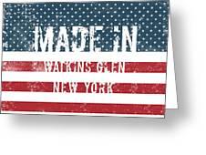 Made In Watkins Glen, New York Greeting Card