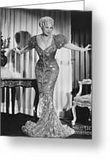 Mae West (1892-1980) Greeting Card