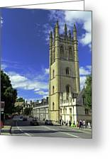 Magdalen Tower Greeting Card