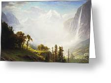 Majesty Of The Mountains Greeting Card
