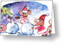 Making A Snow Mouse Greeting Card by Mindy Newman