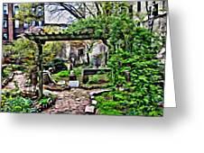 Manhattan Community Garden Greeting Card