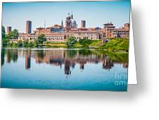 Mantua Skyline Greeting Card