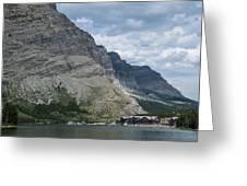 Many Glacier Lodge Greeting Card
